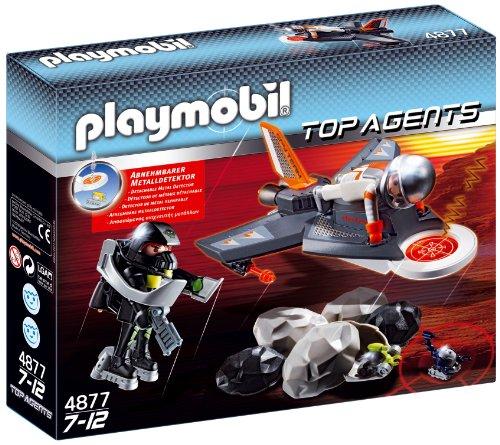 PLAYMOBIL - Avión Detector de Espionaje (4877)