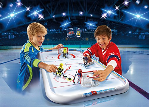 PLAYMOBIL - Campo de Hockey sobre Hielo (55940)