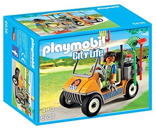 PLAYMOBIL - Carrito de Zoo (66360)