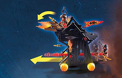 PLAYMOBIL Novelmore 70393 Ariete de Fuego de los Bandidos de Burnham, para Niños de 4 y 10 Años de Edad