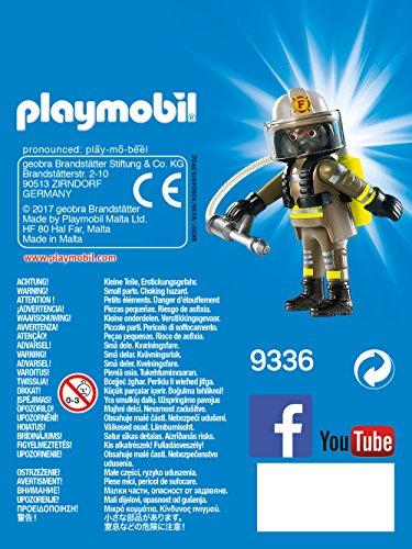 Playmobil Playmofriends- Bombero Muñecos y Figuras, Multicolor, 4,5 x 16 x 12 cm (Playmobil 9336)