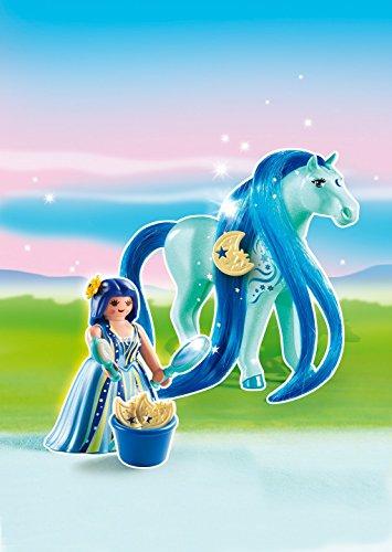 PLAYMOBIL - Princesa Luna con Caballo (61690)