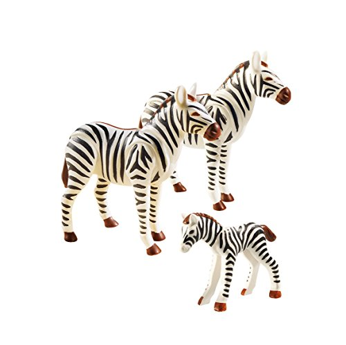 PLAYMOBIL- Zoo Familia de cebras, Color (6641)