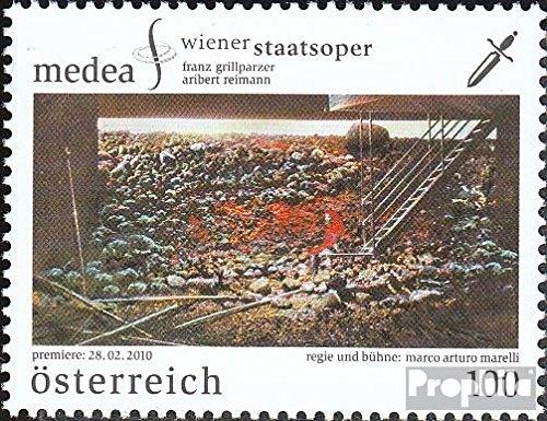 Prophila Collection Austria 2857 (Completa.edición.) 2010 ópera Medea (Sellos para los coleccionistas)
