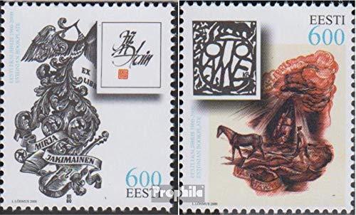 Prophila Collection Estonia 386-387 (Completa.edición.) 2000 Exlibris (Sellos para los coleccionistas)