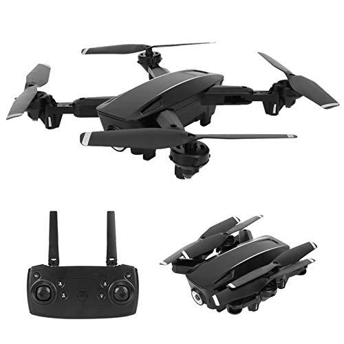 Pwshymi Drone Plegable Kit de Drones con Control Remoto para Principiantes y niños Regalo Ejercicio Deportivo al Aire Libre(Optical Flow 1080P)