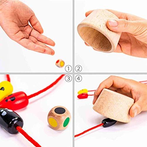Ratón de madera atrapando juego innovador gato captura ratón juego de escritorio, rascado interactivo garra cuidado juguete para niños, reacción de ejercicio