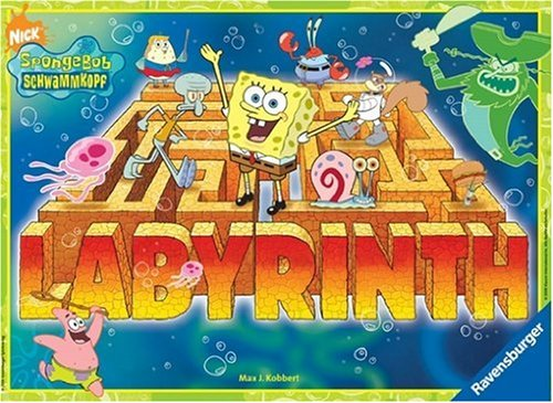 Ravensburger 26489 SpongeBob - Juego de mesa de Bob Esponja [Importado de Alemania]
