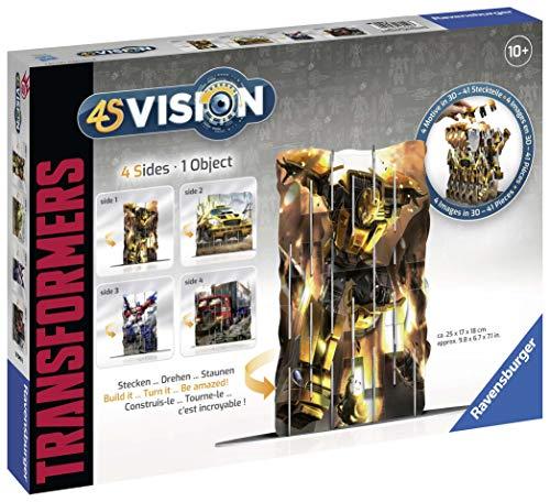 Ravensburger-4S Vision Transformers-Juguete (18049)