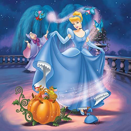Ravensburger Disney Princess - Puzzle 3 x 49 piezas, para niños 5+ años (9339)