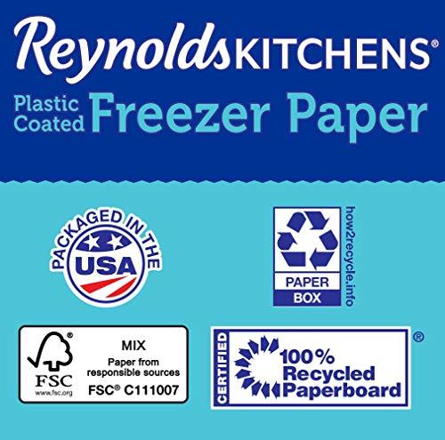 Reynolds - Papel para serigrafía (4,6 m², 12,1 m x 381 mm, Revestimiento de plástico), Color Blanco