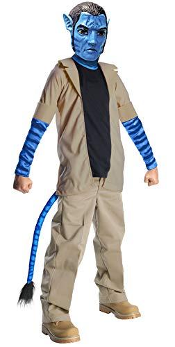 Ribie's Avatar 884292M - Disfraz de Jake Sully para niños