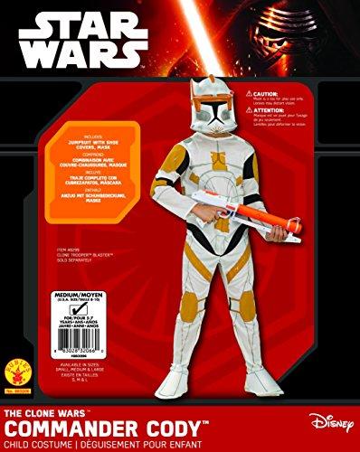 Rubbies - Disfraz de trooper para niño, talla M (5-7 años) (883206_M)