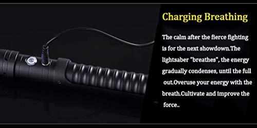 Sable de luz de metal de la espada de juego de rol niño Greer juguetes de regalo para niños al aire libre creativo fiesta de guerra juguetes bluelight