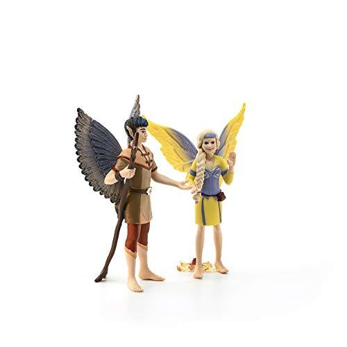 Schleich Colección Bayala Figura de Sera y Jaro, Personajes de la Película Bayala, 15,5 cm