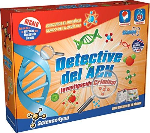Science4you Investigación Criminal Detective del ADN - Juguete Educativo y Científico