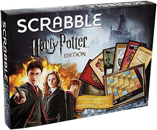 SCRABBLE Harry Potter Edición Limitada ¡Un giro único en el juego clásico, ahondar en Wizarding Words!