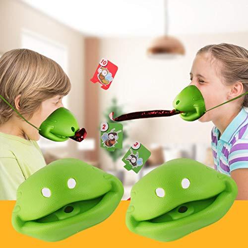 Seasons Shop Tongue Catch Bugs Game, Atletismo Catch Bugs Game, Chameleon Sticking Tongue Divertidos Juegos de Mesa, Juego de Mesa Interactivo Juguete de Regalo Juguete Educativo para niños