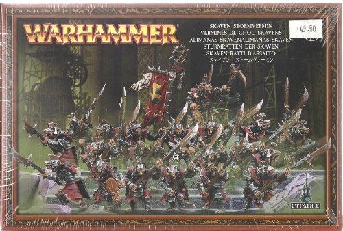 Skaven Alimañas regimiento - Warhammer.