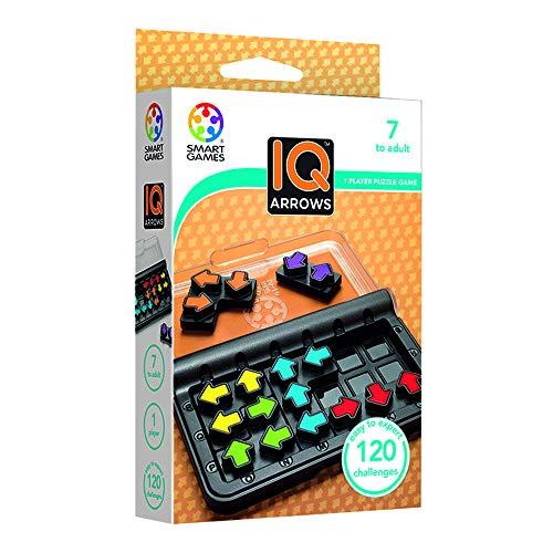 smart games IQ Arrows, Juegos de Memoria para Niños, Rompecabezas, Juguetes Educativos, Puzzle Infantil, Abuela, Productos para Personas Mayores, Regalos Logica 8-99 años (SG424)