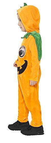 Smiffy'S 21496T2 Disfraz De Calabaza Para Niño Pequeño, Naranja / Negro, Pequeño - Edad 3-4 Años
