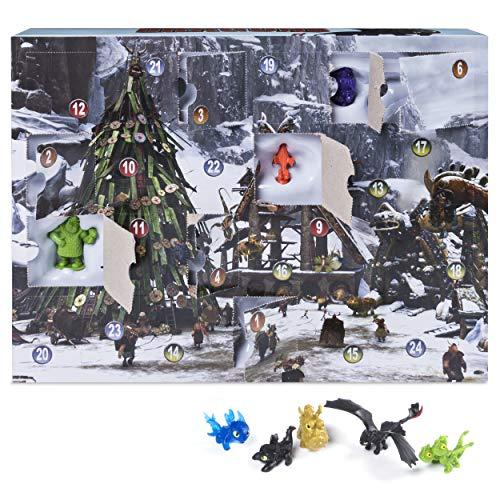 Spin Master DreamWorks Dragons 6036479 - Calendario de Adviento