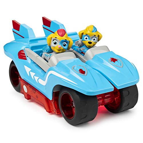 Spin Master Paw Patrol - Mighty Pups Super Paws - Mighty Twins 2-in-1 Power Split Vehicle