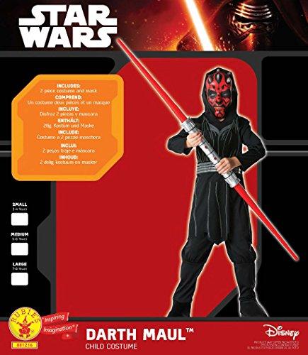 Star - Disfraz Wars para niño, talla S
