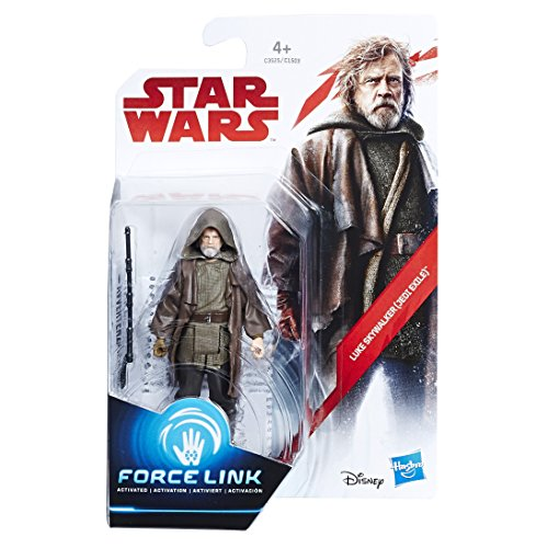 STAR WARS C3525EL2 Luke Skywalker Jedi Exile Force Link Figura