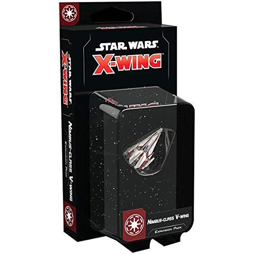 Star Wars X-Wing Segunda edición: Nimbus Clase V-Wing Expansion Pack, Colores Mezclados
