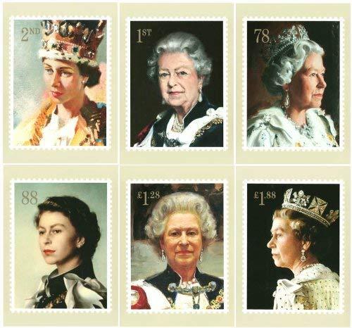 Su Majestad la Reina sellos, presentación paquetes, PHQ/postales 2013, color PHQ/Postcards