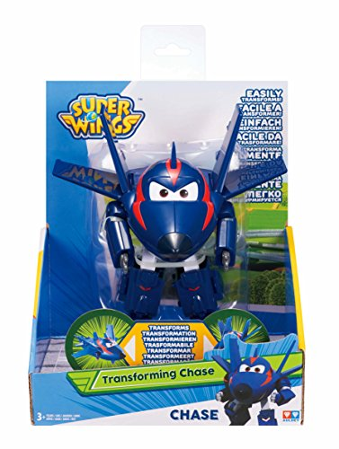 Super Wings EU720223 Transforming Agent Chace, Color Blue