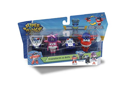 "Super Wings Figuras Transformables ""transform-a-bot"", 5 cm"