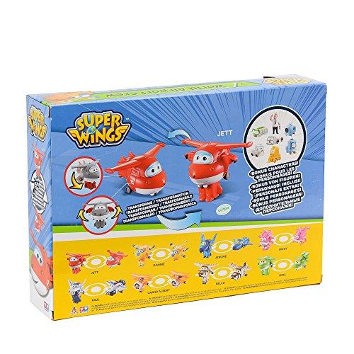 Super Wings Transform-a-Bots World Airport Crew | Serie 1 | Paquete de coleccionistas de tripulación | 15 Figuras de Juguete | Figuras de 2 Pulgadas