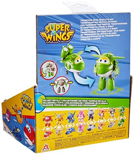Super Wings - YW710280 Transforming Mira Plane, Verde