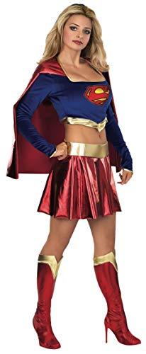 Superman - Disfraz de Supergirl para adultos (Rubie's 888441-M)