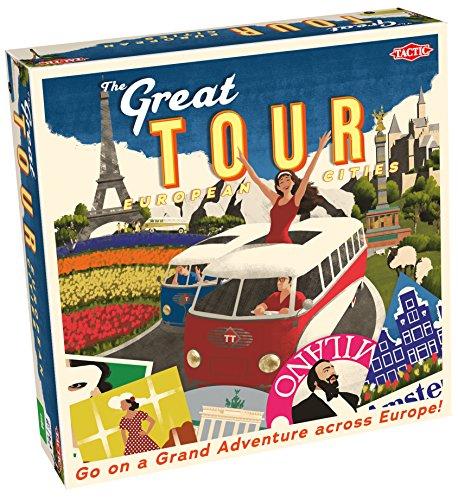 Tactic-El Gran Juego Tour, Color Mixto (The 54631)