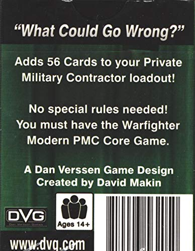 Tactical Wargame Warfighter Expansion 48 - PMC: Easy Money Expansion