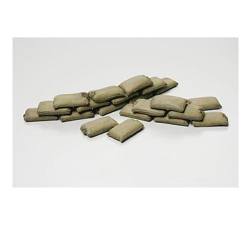 Tamiya 32508 - Accesorio para maquetas - set de ladrillos, sacos y barricada, escala 1/48