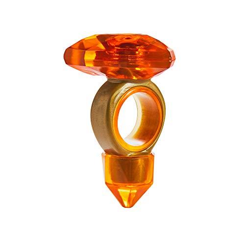 Team Gem- Amber Magic Gemtastic - Muñeca de Gimnasta de Equilibrio y ámbar, Color Amarillo (Moose Toys 608OBE)