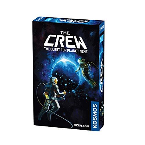 The Crew - Quest for Planet Nine Card Games 2-5 Jugadores para niños para niños Adultos Regalos para niños, Juego cooperativo para Grandes relaciones Diversión, Party Party (Edades 10 y más)