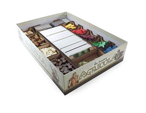 The Game Doctors Boardgame Organizer Compatible with Agricola (Revised Edition)