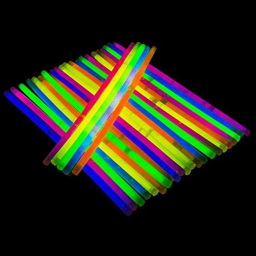The Glowhouse Los 100 Colores Premium Pack glowhouse palillo del Resplandor Pulseras Individuales (Mixto)