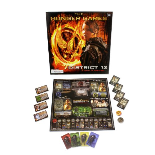 The Hunger Games - Hunger Games Die Tribute Von Panem District 12 Strategy Brettspiel [Importado]