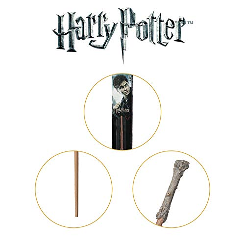 The Noble Collection Harry Potter Varita (Caja de Ventana)