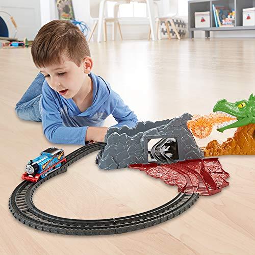Thomas & Friends FXX66 Trackmaster - Juego de Tren con Accesorios, diseño de dragón, Multicolor