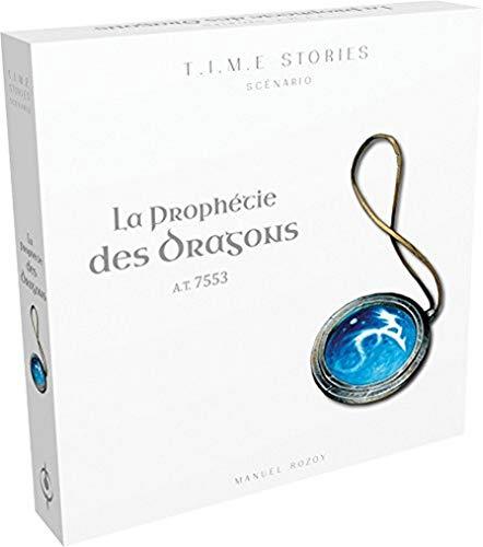 Time Stories – Extensión: La Profetia de los Dragones – Asmodee – Juego de Mesa – Juego de Estrategia – Juego cooperativo