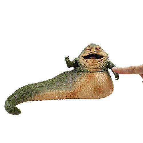 Toy Zany Star Wars Black Jabba The Hutt Deluxe 6 Inch Acción Figura