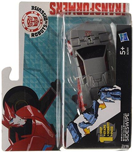 Transformers Hasbro B2991 Robots In Disguise - cambiadores de un Solo Paso - la Figura de acción Sideswipe