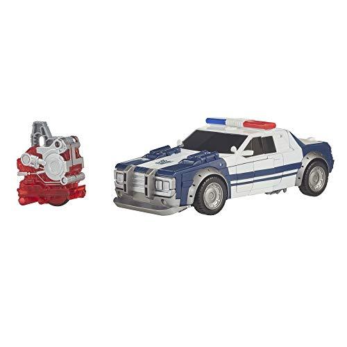 TranSFORMERS Saga – Robot propulsión Barricada Coche Policía Nitro Series 18 cm – Juguete transformable 2 en 1